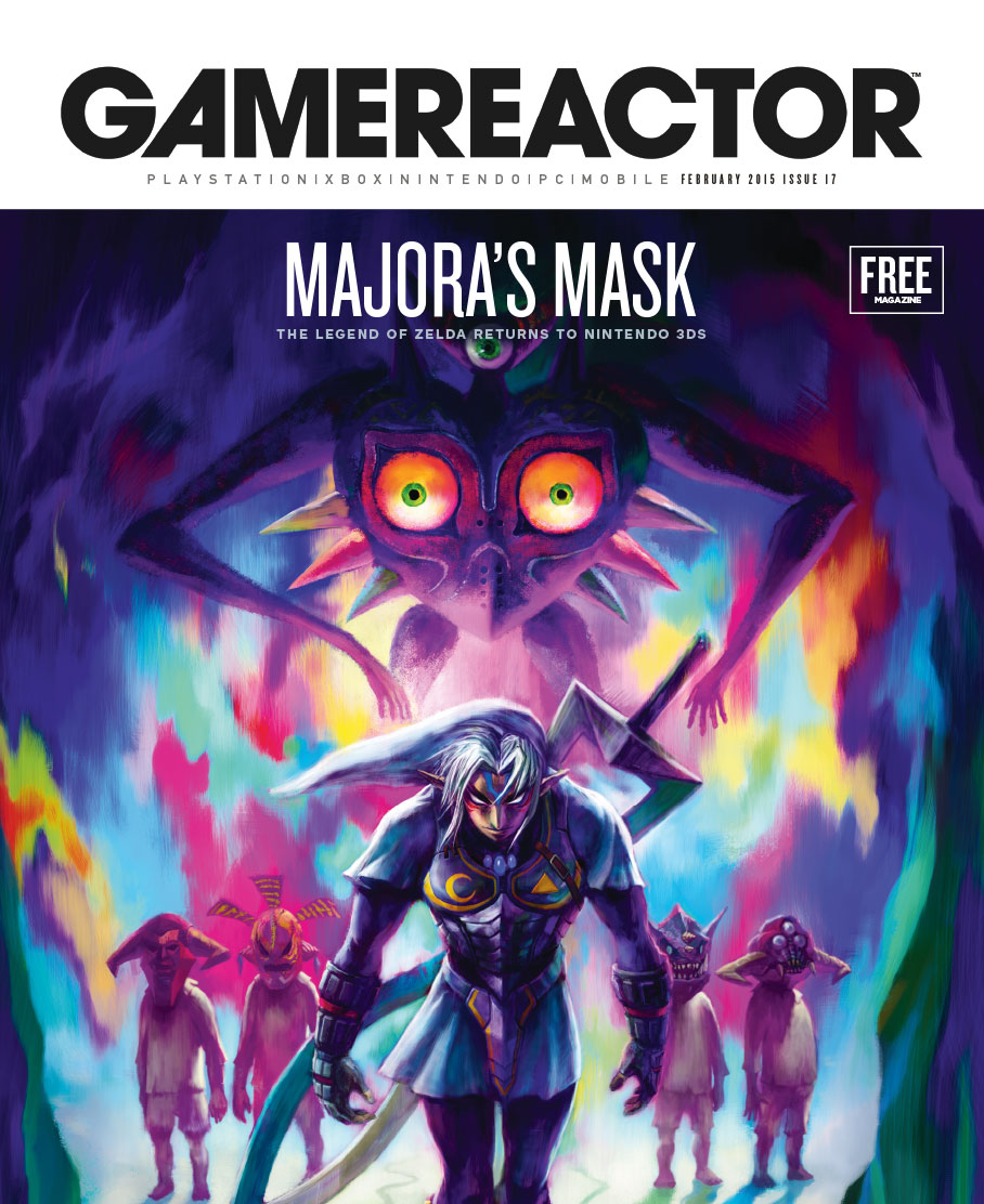 Tema de capa do Gamereactor nr 17