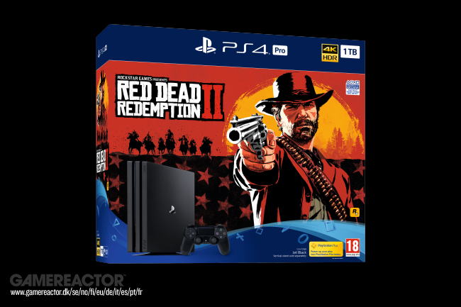 Sony e Rockstar anunciam bundle de PS4 e Red Dead Redemption 2