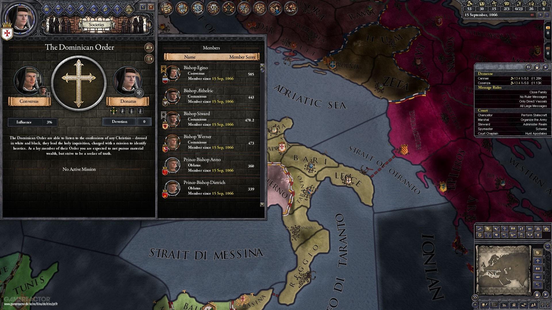 Crusader Kings II recebe Monks and Mystics