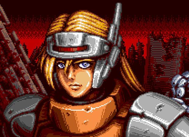 Blazing Chrome confirmado para Xbox One com novo trailer