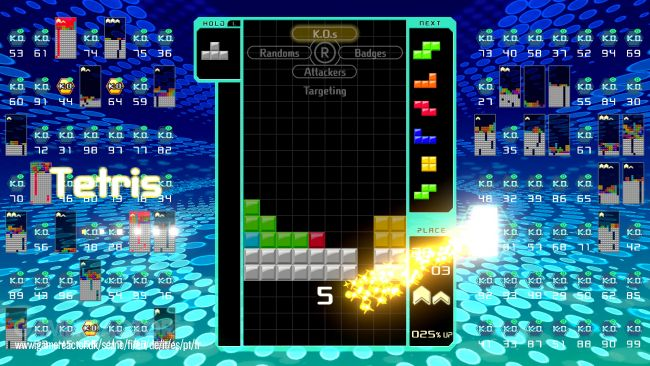 Team Battle chegou a Tetris 99