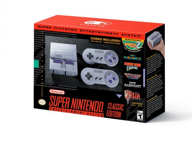 Mini Super-Nintendo anunciada