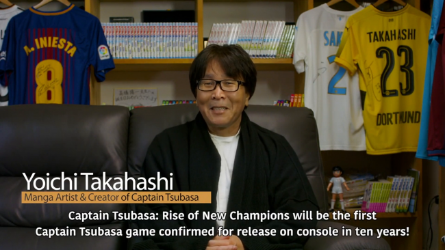 Captain Tsubasa: Rise of New Champions vai incluir histórias nunca antes vistas
