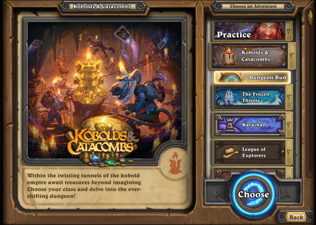 Hearthstone: Kobolds e Catacumbas