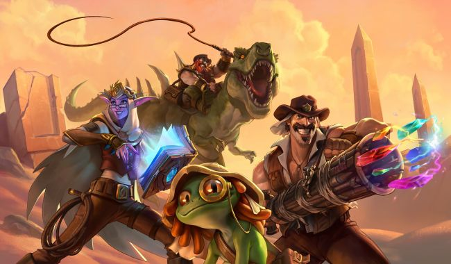 Exclusivo Mundial - Nova carta de Hearthstone: Saviors of Uldum