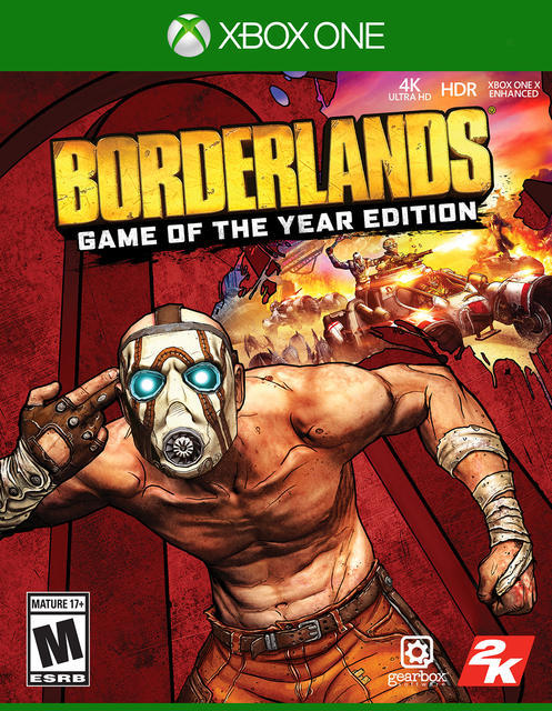 Podem jogar Borderlands: Game of the Year Edition de borla na Xbox One