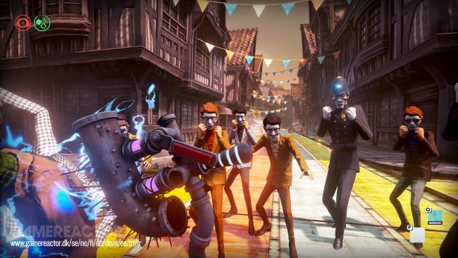 A arte de We Happy Few