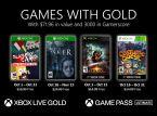 Estas são as quatro ofertas do Games with Gold de outubro...