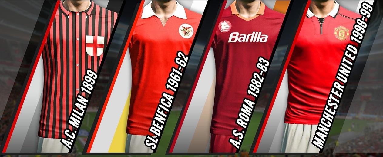 6f3741825 Equipamento clássico do Benfica em PES 2014 - Pro Evolution Soccer 2014 -  Gamereactor