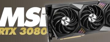MSI RTX3080 Gaming X Trio 10G