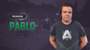 Pablo joins Alliance's Dota 2 roster in EGM's place