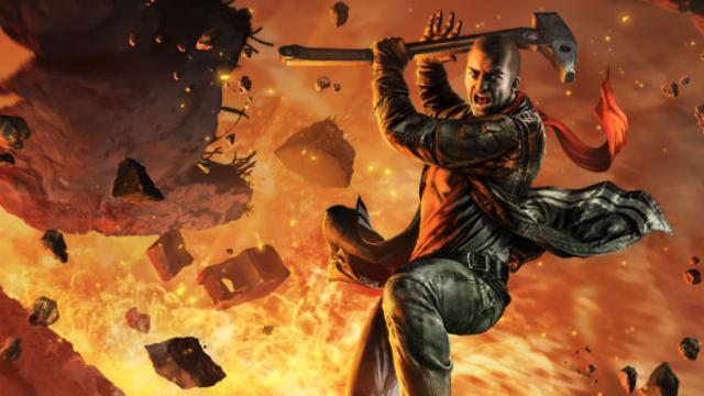 Red Faction Guerrilla marca encontro com a Switch