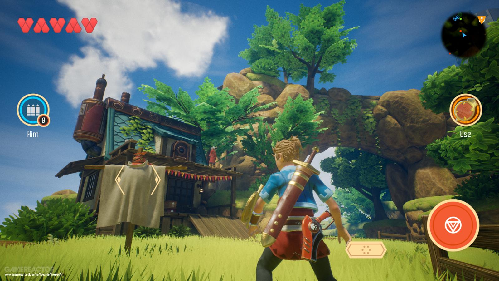Oceanhorn 2: Knights of the Lost Realm vai chegar em breve à Switch