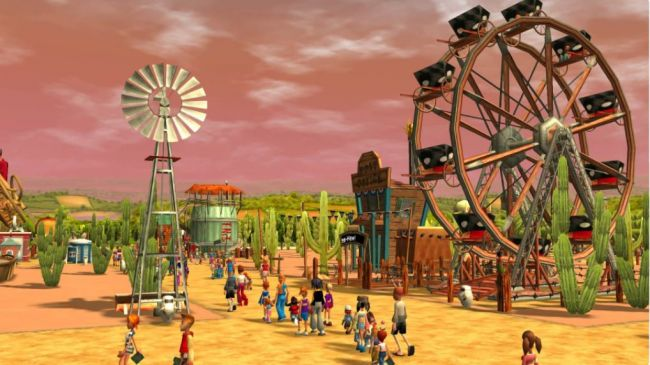 Epic Store está a oferecer RollerCoaster Tycoon 3: Complete Edition
