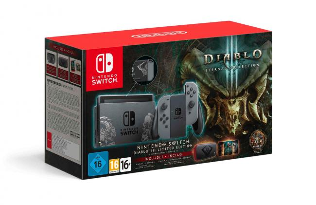 Anunciado Bundle da Switch com Diablo III