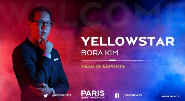 YellOwStaR becomes head of PSG Esports