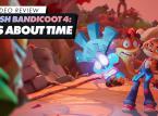 Veja a nossa jogabilidade de Crash Bandicoot 4