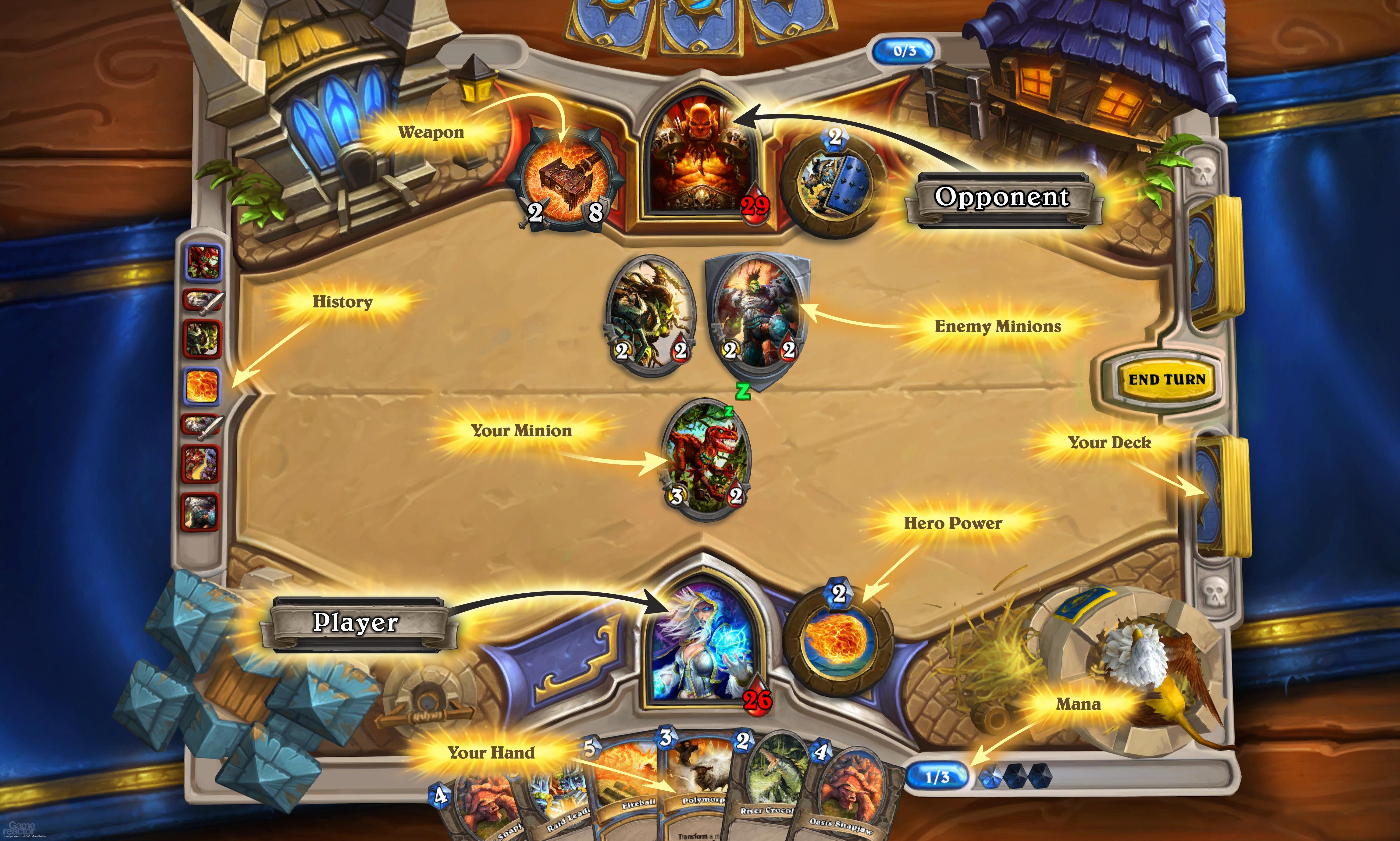 Скриншот к игре Hearthstone Heroes of Warcraft.