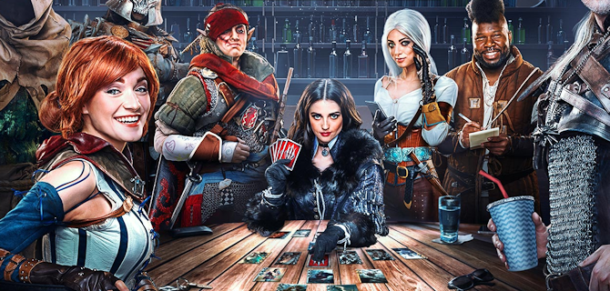 Uma Hora com Gwent: The Witcher Card Game