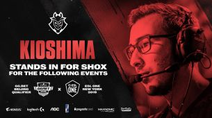 G2 recruits KioShiMa as a stand-in player
