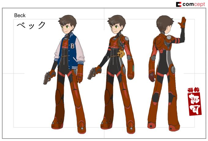 Imagens de Keiji Inafune quer homenagear a animação japonesa com Red