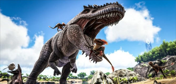 ARK: Survival Evolved anunciado para Nintendo Switch