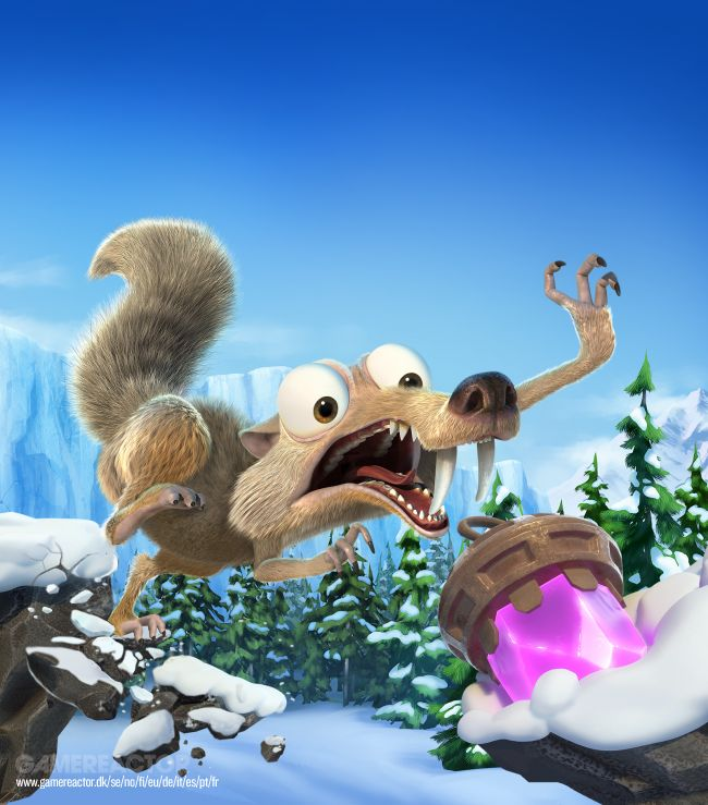 Veja o novo trailer de Ice Age: Scrat's Nutty Adventure