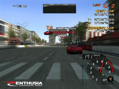 Enthusia: Professional Racing