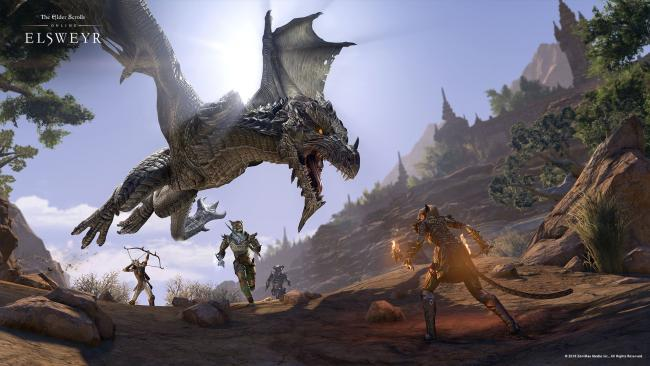 Dragões vão regressar a Tamriel com The Elder Scrolls Online