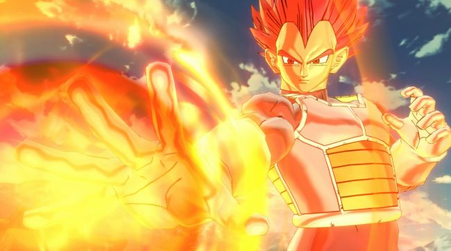Vegeta Super Saiyan God finalmente revelado para Dragon Ball Xenoverse 2