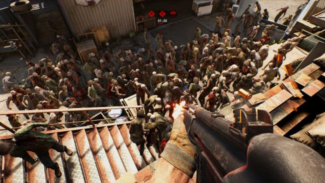 Overkill's The Walking Dead foi adiado nas consolas