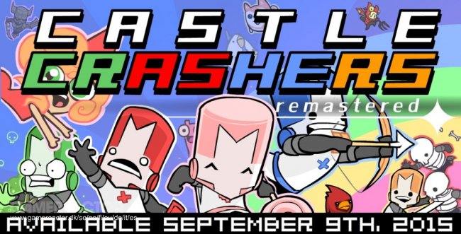 Castle Crashers Remastered anunciado para Switch e PS4