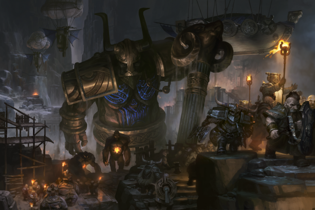 Novo trailer de SpellForce 3: Soul Harvest mostra os Dwarves