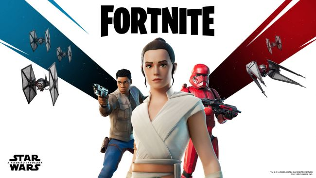 Grande evento Star Wars de Fortnite é hoje!