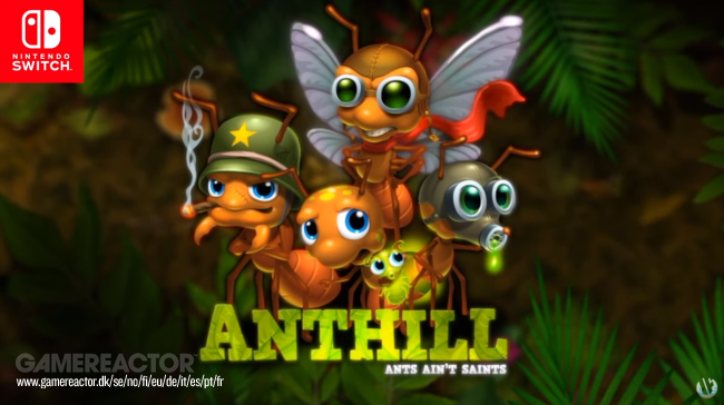Anthill foi anunciado para Nintendo Switch