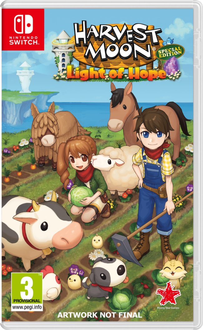 Harvest Moon: Light of Hope chega às consolas mais tarde que o previsto