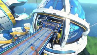 Mario Kart 8 - DLC Pack 2 Big Blue Trailer