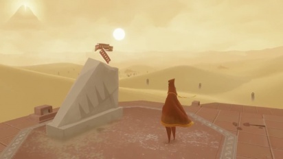 Journey PS4 - Final Build Gameplay