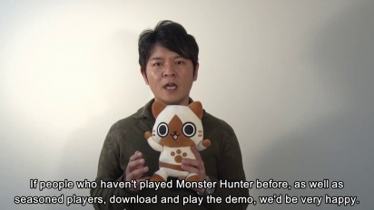 Monster Hunter 4 Ultimate - Ryozos Message Trailer