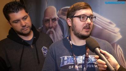 Heroes of the Storm - Matt Villers and Kaeo Milker Interview