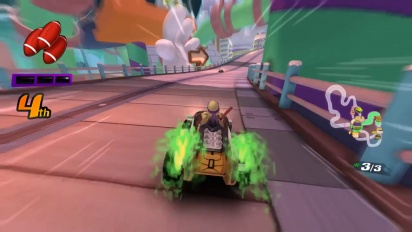 Nickelodeon Kart Racers - Gameplay Trailer