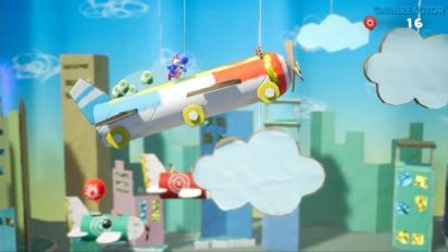 Yoshi's Crafted World - Jogabilidade Aérea