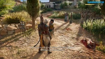 Assassin's Creed: Origins - Jogabilidade Exclusiva 1