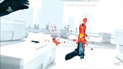 Superhot VR - PlayStation VR Reveal Trailer