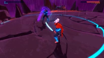 Furi - Batalha contra boss
