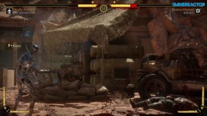 Mortal Kombat 11 - Gameplay com o Endoesqueleto de Terminator T-800