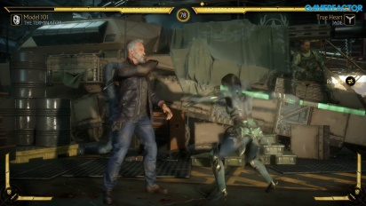 Mortal Kombat 11 - Terminator T-800 vs Jade