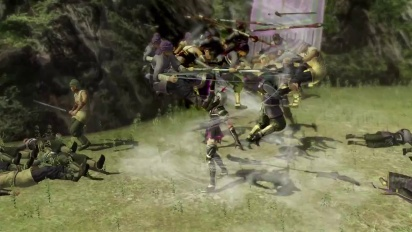 Dynasty Warriors 8: Xtreme Legends - Complete Edition - Lu Lingqi Trailer