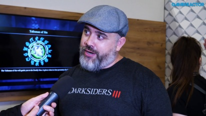 Darksiders III - Entrevista Richard Vorodi