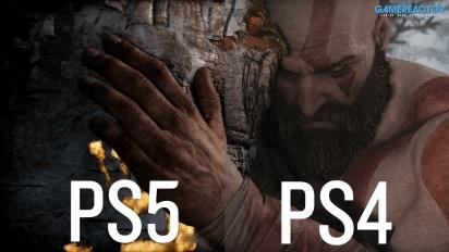 God Of War - PS4 vs PS5 Comparison